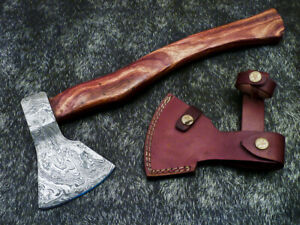 """New Beautiful Handmade Damascus Steel AXE """"UNIQUE AXE"""" Limited Edition PS-1352"""