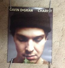 Lp Cd 15x11apxx Gavin Degraw Promo Poster chariot. music vintage record r