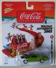 1973 PONTIAC GRAND AM #11 JOHNNY LIGHTNING COCA COLA HOLIDAY AUTOMENTS 2005 NEW!