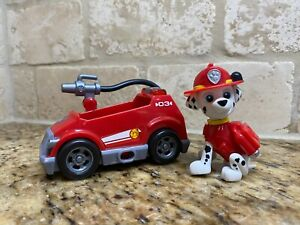 Paw Patrol Ultimate Rescue Marshall Mini Fire Cart Vehicle figure