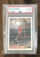 1992-93 Upper Deck Michael Jordan 23 PSA 10