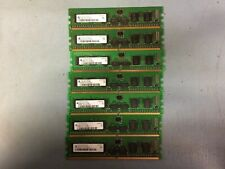 256MB PC2-3200R DDR2-400 1Rx16 LOT OF 7 Qimonda Registered Memory(RAM) DIMM