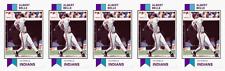 (5) 1993 SCD #28 Albert Belle Baseball Card Lot Cleveland Indians