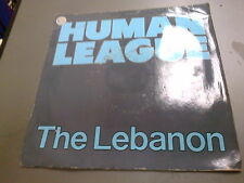 THE HUMAN LEAGUE - THE LEBANON - 7'' SINGLE
