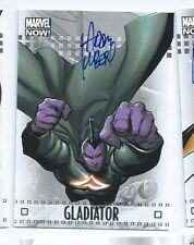 2014 Marvel Now autograph auto card 32A Gladiator Adam Kubert