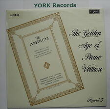 DA 43 - VARIOUS - The Golden Age Of Piano Virtuosi Volume 3 - Ex Con LP Record