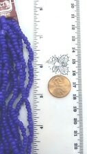 Cobalt blue glass seed Bead Gallery size 6o