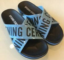 OPENING CEREMONY Berkeley Men's Slide Sandal Flip-Flop Lt Blue EU 43 US 9.5 NIB!