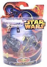 Star Wars Micro Machine Hasbro Jedi Starfighter Battle Droid Tri-Fighter Anakin