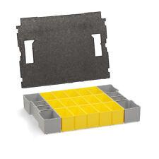 Bosch Sortimo Insetboxen-Set B3 für L-Boxx inkl. Deckelpolster