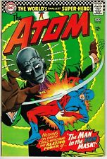 The Atom #25 (1966) - 9.0 VF/NM *The Man in the Iron Mask*