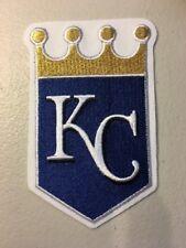 "Kansas City Royals Jersey Sleeve White Shield MLB Logo Patch 4.25"" X 3"""