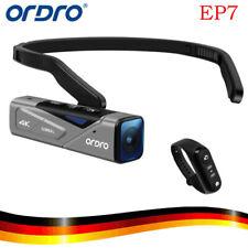 ORDRO EP7 Kopf 4K 60fps WIFI HDR Videokamera Camcorder Autofocus w/Fernbedienung