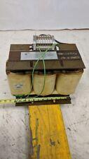 Warner Power Daykin Electric D10n 6486 10kva Transformer 480vac To 380y220 1ph