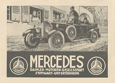 Y4022 Automobili MERCEDES - Pubblicità d'epoca - 1925 Old advertising
