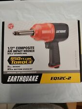 "*New* Earthquake 1/2"" Composite Air Impact Wrench Eq12C-2 (63385)"