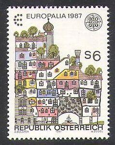 Austria 1987 Europa/Europalia Festival/Town Buildings/Animation 1v (n38062)