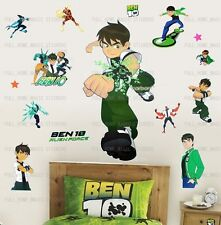 BEN 10 Wall Stickers Boys Kids Children Bedroom Removable Art Decor ALIEN FORCE