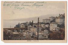 BOLLO DA 30 CENT. SU CARTOLINA DI ZOAGLI GENOVA 1931 3-135