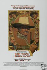 The shootist John Wayne Lauren Bacall movie poster