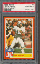 1985 Topps NFL Star Set #6 Dan Marino PSA NM-MT 8 *1961
