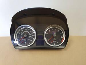 BMW M3 DCT SPEEDO SPEEDOMETER INSTRUMENT CLUSTER CLOCKS E90 E92 E93 OEM 7844315