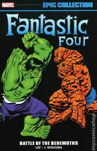 Fantastic Four Battle of the Behemoths TPB Epic Collection #1-1ST VF 2021