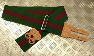 Genuine British Army Worcestershire and Sherwood Foresters Regiment Stable Belt