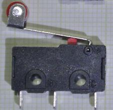2 Stück Hebel Mikro Schalter 5A 250V AC DC Endstop Rollenschalter Signal REPRAP