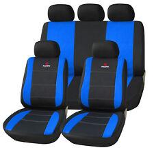 Autositzbezüge Sitzbezug Schonbezug Universal Schonbezüge Schwarz/Blau AS7315