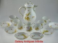 Large 20th Century Meissen Ming Dragon Porcelain Coffee Service