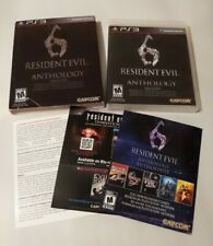 Resident Evil 6 Anthology PLAYSTATION 3 (PS3) Horror (Video Game) W/slipcover