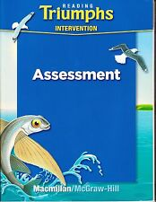 Reading Triumphs Intervention Assessment (Paperback) - McGraw-Hill  - NEW!!!