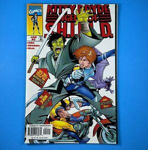 Kitty Pryde Agent of SHIELD #2 Marvel Comics X-Men 1997