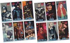 "Batman & Robin Movie Widevision - 12 Card ""Profiles"" Chase Set P1-P12 - 1997"