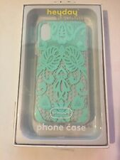heyday Apple iPhone X Printed Lace Case - Teal Lace