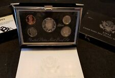 1992 S Premier Silver Proof Set ☆ in box with COA