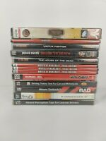 Job lot of 13 new and sealed games PC. World of Warcraft sonic judge dredd.