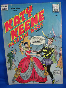 KATY KEENE FASHION BOOK 14 F+ 1956