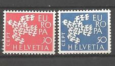 EUROPA 1961 Suisse - Switzerland neuf ** 1er choix
