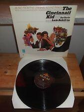 """Lalo Schifrin """"The Cincinnati Kid"""" LP OST MGM USA  E-4313"""