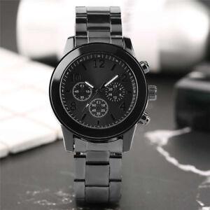 Novel Stainless Steel Band Women Party/Sport Analog Quartz Wrist Watch Bracelet