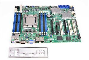 Supermicro X9SRH-7F Server Mainboard, Sockel 2011 + CPU XEON, ATX, Neustes BIOS