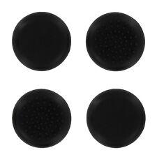 4 Sticks TPU ASSECURE Noir Gel Silicone Grip Pour Manette Xbox One