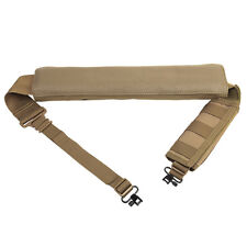 TAN Tactical Shotgun Sling With QD Swivels And Shell Carrier Fits BENELLI NOVA