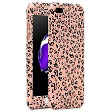 PINK LEOPARD PRINT New Cute Case Cover w Screen Protector for iPHONE 7 PLUS