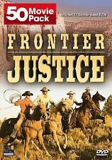Frontier Justice (DVD, 2008, 12-Disc Set) Free Shipping