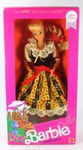 1990 Japanese Edition: Czechoslovakian Barbie Doll from the Dolls of the World