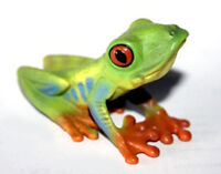 NEW CollectA 88386 Red Eyed Green Tree Frog Model