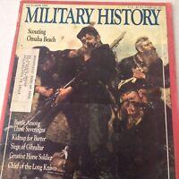 Military History Magazine Scouting Omaha Beach October 1987 070917nonrh